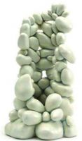 Reef One Biorb Samuel Baker Pebble Ornament 3 Sizes 2 Colours Black White